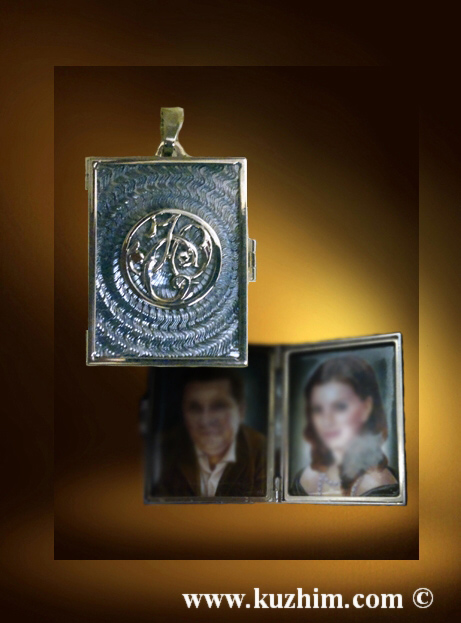 медальон мужской для фото